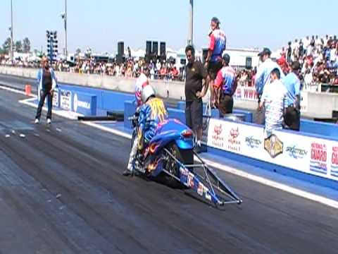 Charlie Prophit's world Record pass on Pro Xtreme Motorcycle