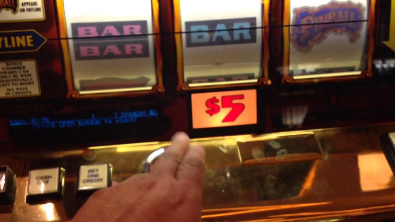 Pinball slot machines gambling and addiction and statistics