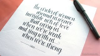 Brush Lettering with Pentel Fude Touch Sign Pen.mp3