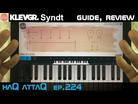 KLEVGR Syndt for iPad │ Guide and Review - haQ attaQ 224