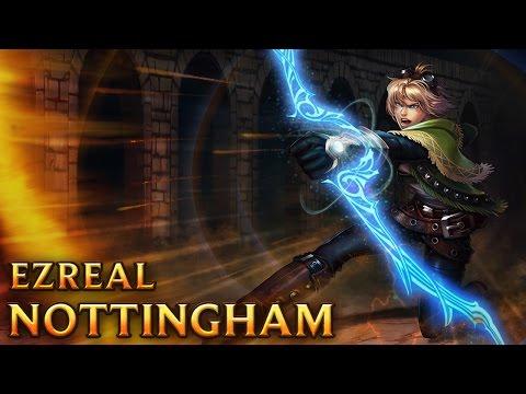 Ezreal Nottingham - Nottingham Ezreal - Skins lol