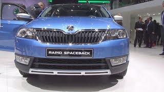 Skoda Rapid Spaceback Scoutline 2016 Videos