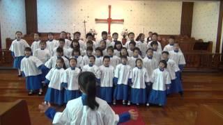 聖公會呂明才紀念小學 20121221 一二年級聖詩組獻詩