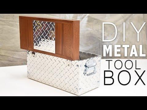 I Made A DIY Metal Tool Box