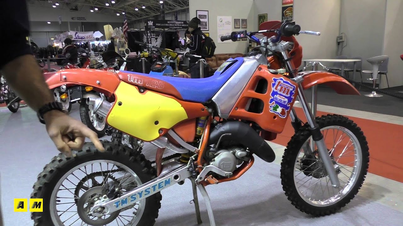Moto 125 epoca a Motodays Roma 2016 - YouTube