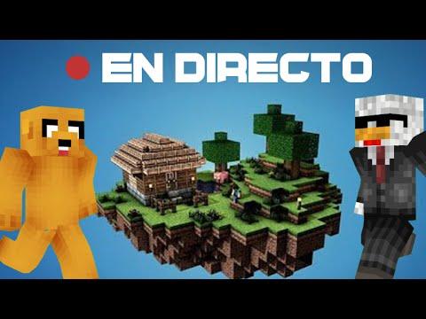 SKYWARS EN DIRECTO CON EL LATINO (Minecraft 1.9 Cubecraft)