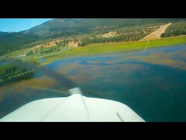 Beech Sierra Landing at Gravelly Valley - POV (2011)
