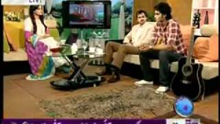 Faisal Ali Khan in Salam Pakistan on Waqht news