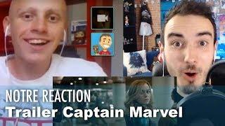 TRAILER de CAPTAIN MARVEL, notre REACTION !