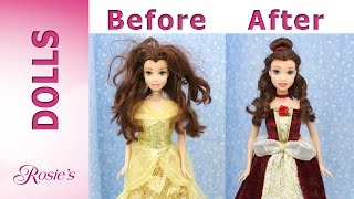 Beauty and The Beast: Belle's Makeover Part 2 - Red Dress
