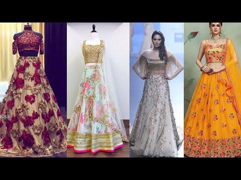 Latest Indian Lehenga Choli Designer Dress Ideas || Stylish Dresses