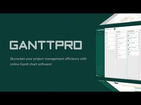 Gantt Chart Software - GanttPRO (Overview)