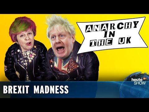 Brexit: deal or no deal? German news satire 'heute show' (English subtitles)