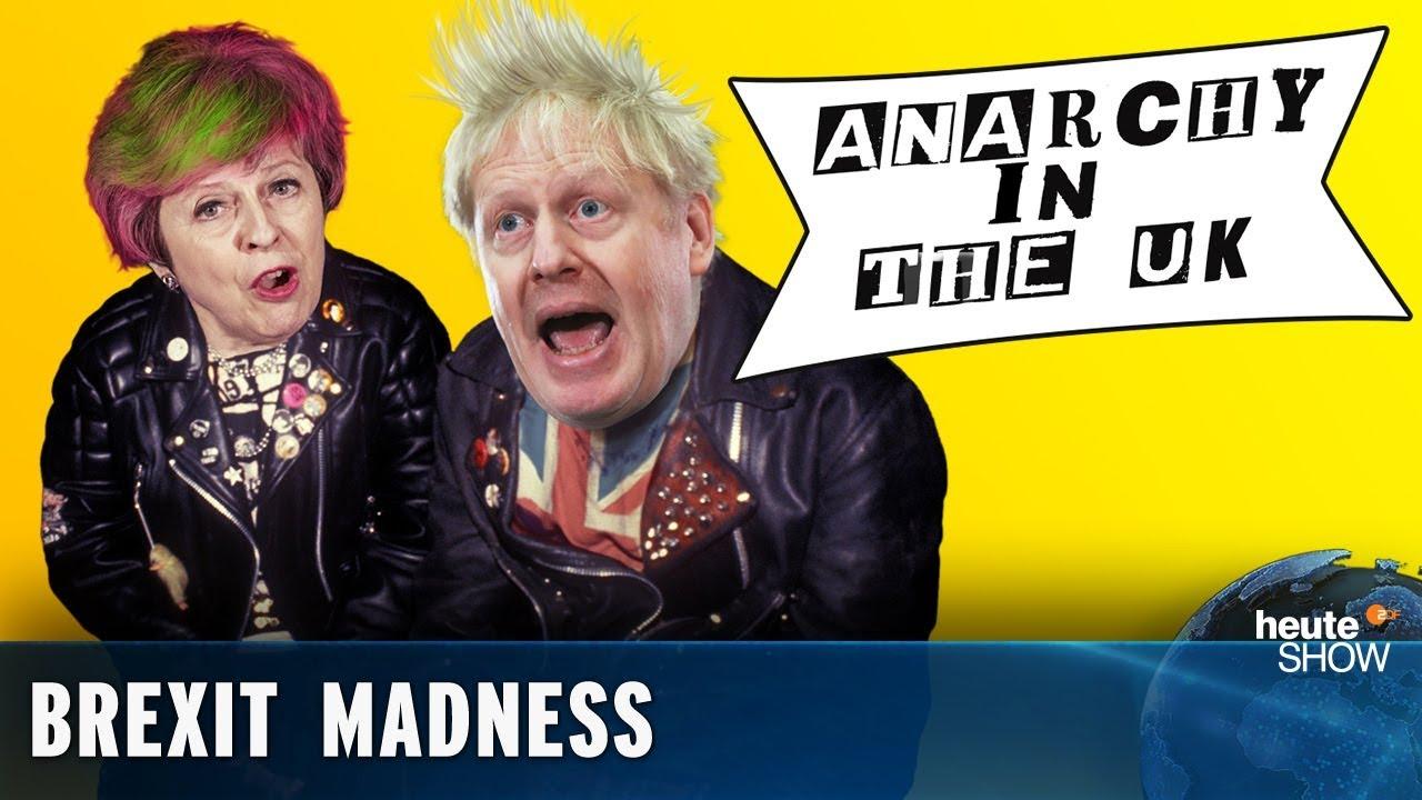 Brexit Deal Or No Deal German Political Comedy Heute Show