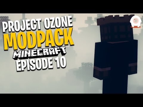 A NEW DIMENSION!! Minecraft Project Ozone 3 Modpack Ep.10 - GiantWaffle