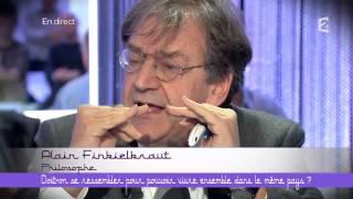 Alain Finkielkraut à Abdel Raouf Dafri :