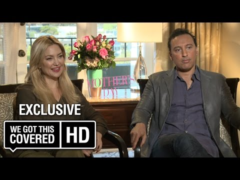 Exclusive Interview: Kate Hudson and Aasif Mandvi Talk Mother's Day [HD]