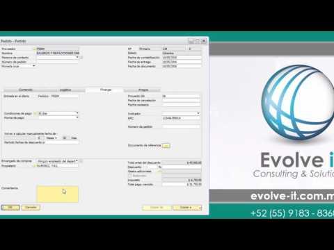 Módulo de Gestión de Proyectos en SAP Business One
