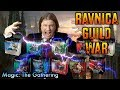 The Ravnica Guild War! A Prerelease Kit Challenge for Magic: The Gathering!