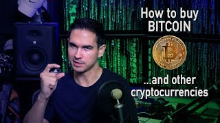 How to buy bitcoin (and other cryptocurrencies)