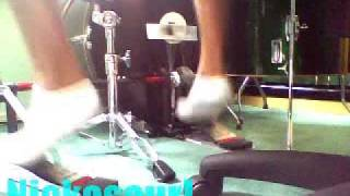 DW 9000 Double bass pedals sound check