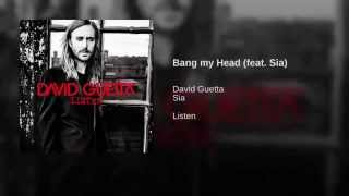 bang my head david guetta ft sia audio