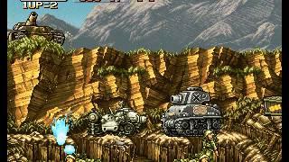 Metal Slug - Super Vehicle-001 - Metal Slug - Mission 4 Perfect Run - User video