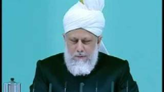 Friday Sermon : 9th October 2009 - Part 4 (Urdu)