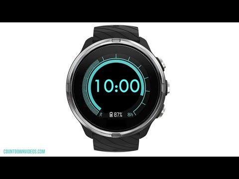 10 Minute Sport Countdown Timer With Alarm ((‹●›))