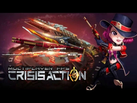 Crisis Action : New Weapons Preview !!!