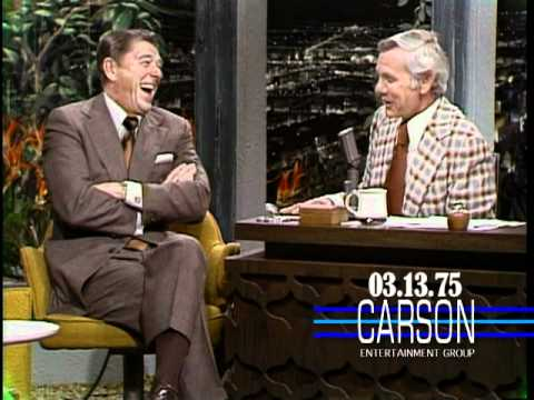 Ronald Reagan Talks About Balancing the Budget on Johnny Carson's Tonight Show, 1975