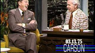 Ronald Reagan Talks About Balancing the Budget on Johnny Carson