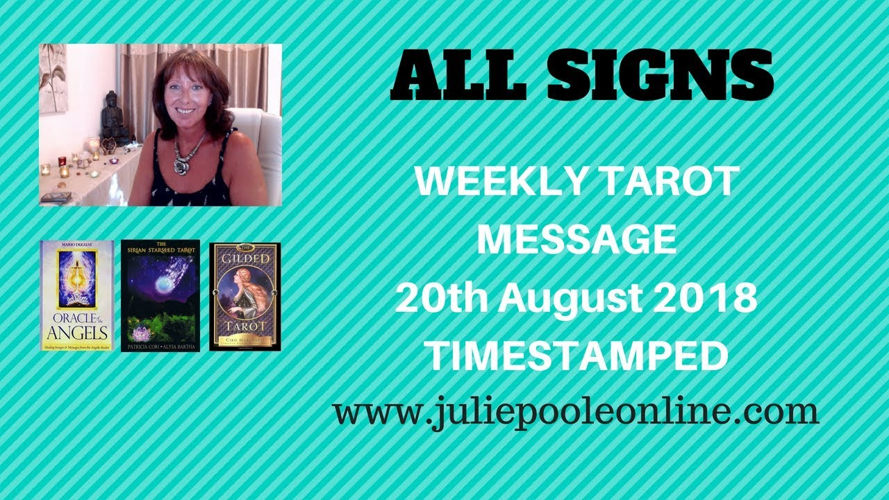 WEEKLY MESSAGES 20TH AUGUST 2018 TIMESTAMPED