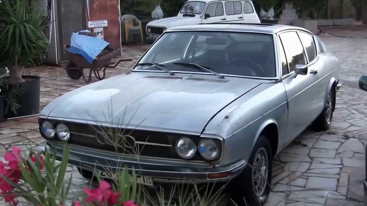 AUDI 100 COUPE S SILVER STAR 1972 Portugal - YouTube