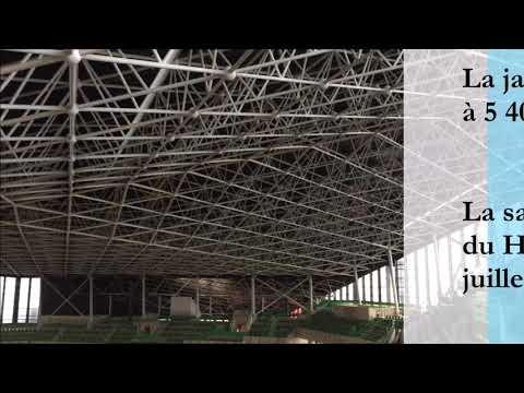 Palais des sports de Nantes : le point sur les travaux