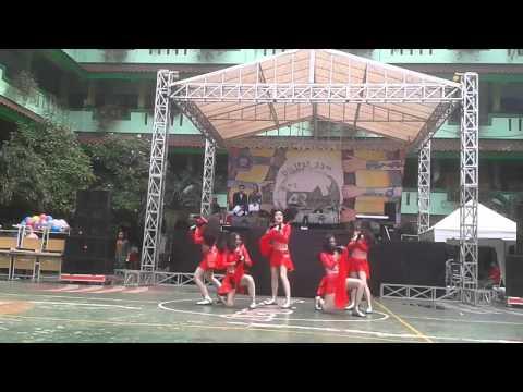 MORZLE Modern Dance in The 33rd DILIPAT SMAN 54 Jakarta 2015 - 2016