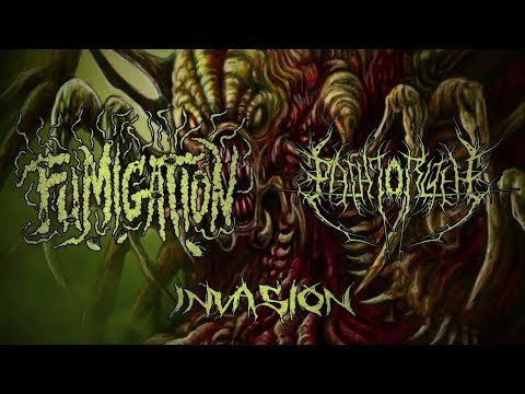 FUMIGATION & THE PATH TO R'LYEH - INVASION (FULL PROMO SPLIT 2017) [CDN Records]