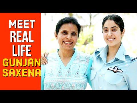 The Biography Of Gunjan Saxena The Kargil Girl First Women Iaf Pilot Officer Youtube
