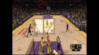 Alley Oops and Self Alley Oop NBA2k13 Gameplay