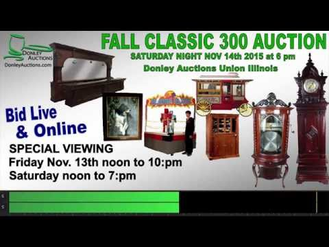 Donley Auctions Fall Classic 300 Auction