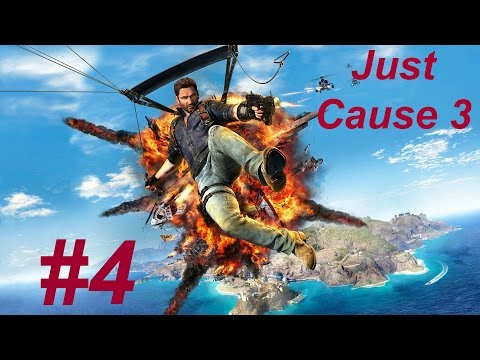 Just Cause 3 Liberar el asentamiento de manea #4 gameplay ps4