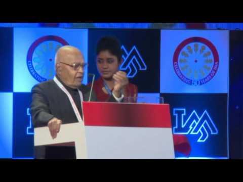 IMA International Management Conclave (Jan. 2013) - Dr. Kumar Mangalam Birla (Aditya Birla Group)
