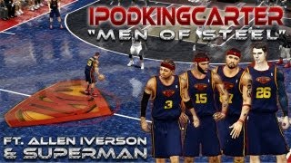 "NBA 2K13 - ""Men Of Steel"" Mod Showcase By NikeFaller | NBA 2K13 PC Modded Gameplay Ft IpodKingCarter"