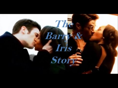 The Barry and Iris Story from the Flash (Seasons 1 & 2)