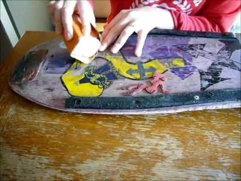 Old School H-Street Skateboard zum Citycruiser (Restaurierung + Montage)