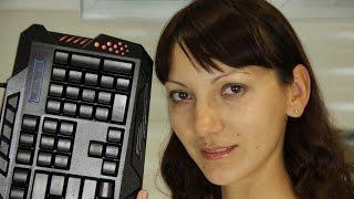 Игровая клавиатура Marvo K636 с тремя видами подсветки