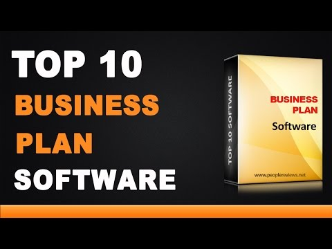 Best Business Plan Software - Top 10 List