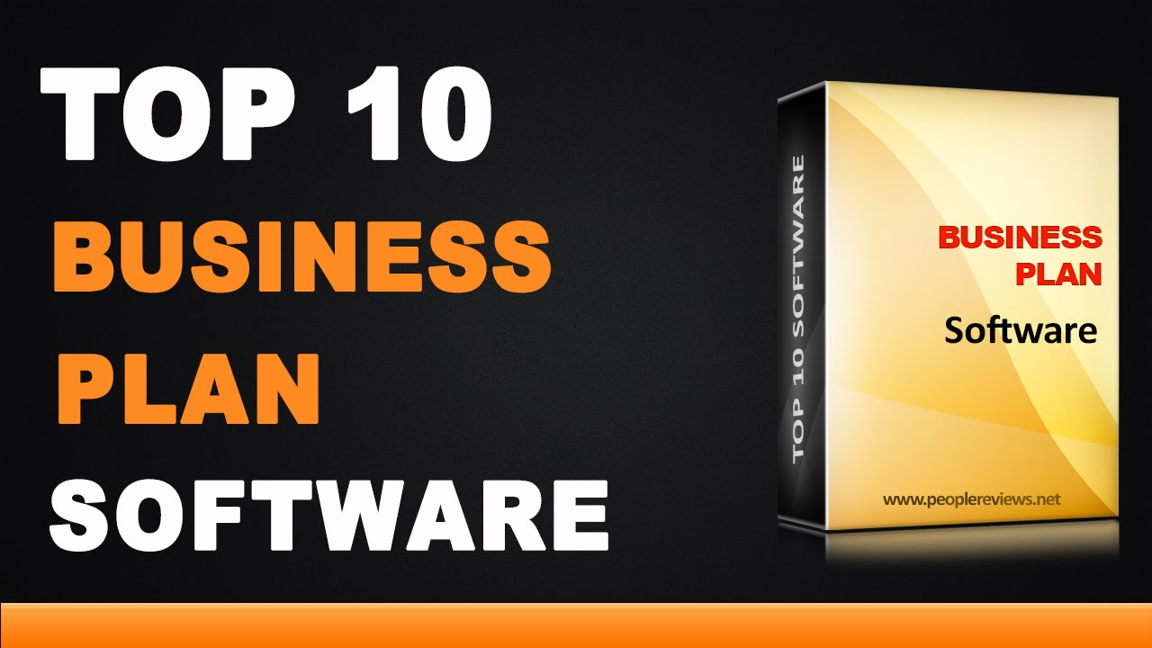 Best Business Plan Software - Top 10 List - YouTube