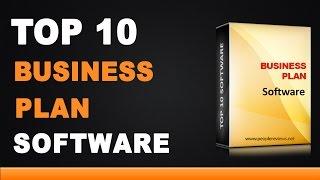Best Business Plan Software - Top 10 List