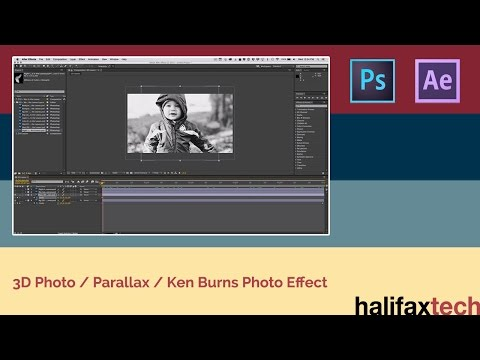 Tutorial - 3D Photo / Parallax Effect in Adobe After Effects